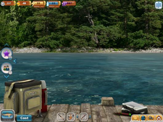 Fishing Paradise 3D - курорт
