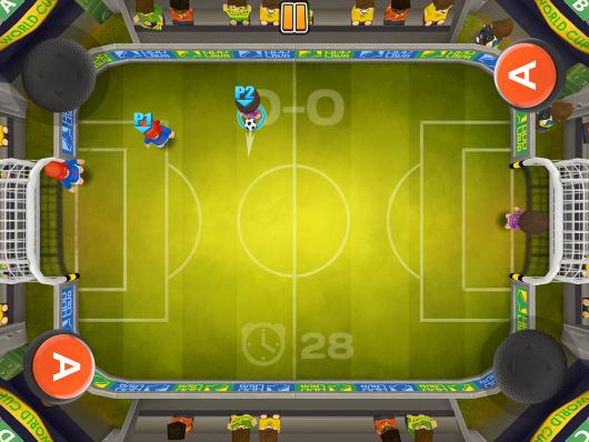 Football Blitz - новые футболисты