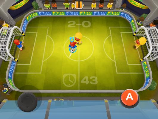 Football Blitz - футбольное поле