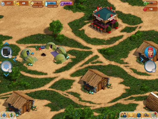 Fishing Paradise 3D - локации