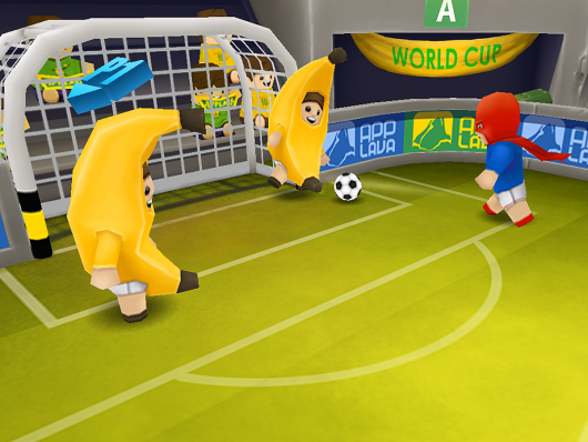 Football Blitz - забавные игроки