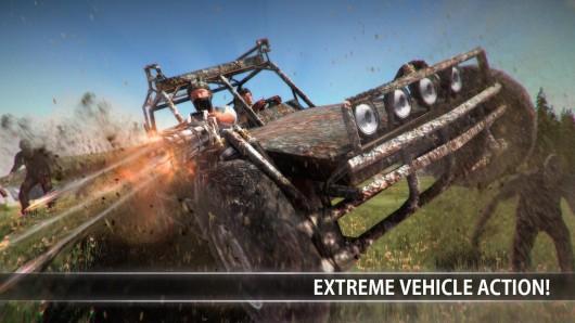 Experiment Z - Zombie Survival - автомобили