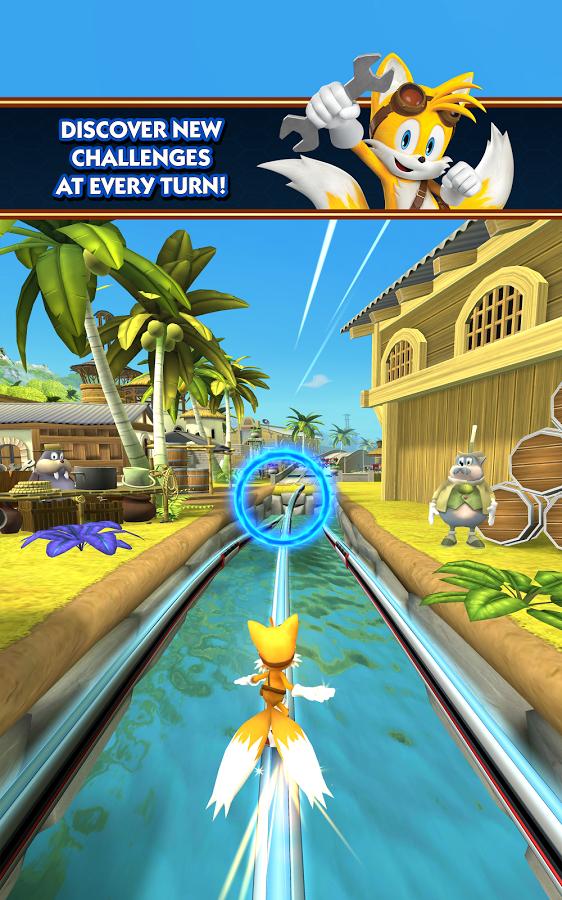 Sonic Dash 2: Sonic Boom - победа