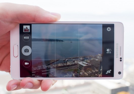 Смартфон Samsung Galaxy Note, фотосъемка