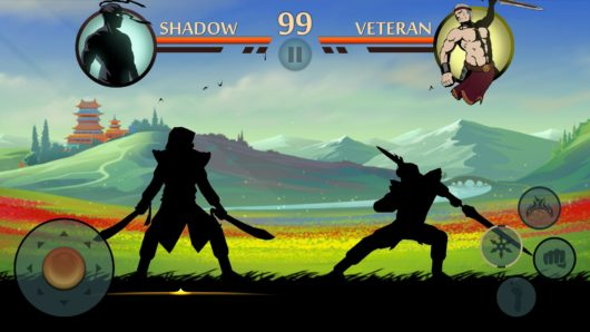 Игровой бой в Shadow Fight 2