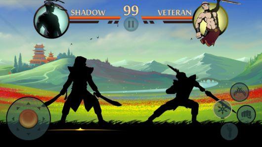 Игровой бой в Shadow Fight 2