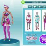 Выбор внешнего вида персонажа в The Sims Freeplay
