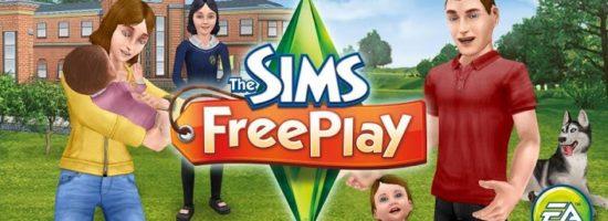 Застава из игры The Sims Freeplay