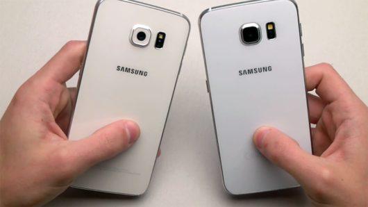 Фотография смартфона Samsung Galaxy S7 и его подделки