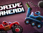 Две нарисованные машины из игры Drive Ahead