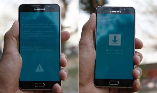 Режим загрузки прошивки на Samsung Galaxy A5 (2016)