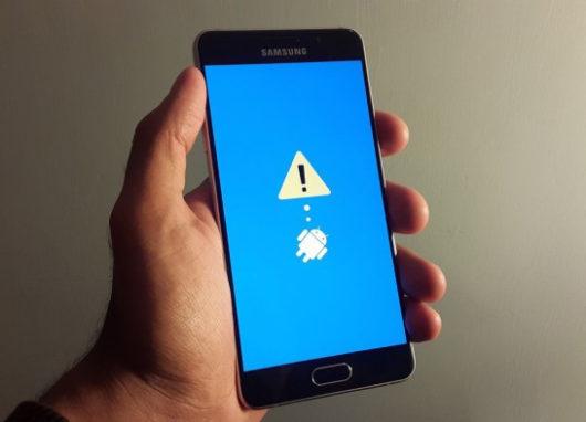Режим восстановления Samsung Galaxy A5 2016