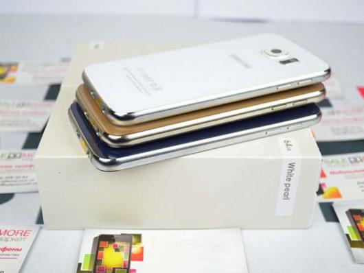 Пример не оригинальной рамки Samsung Galaxy S6
