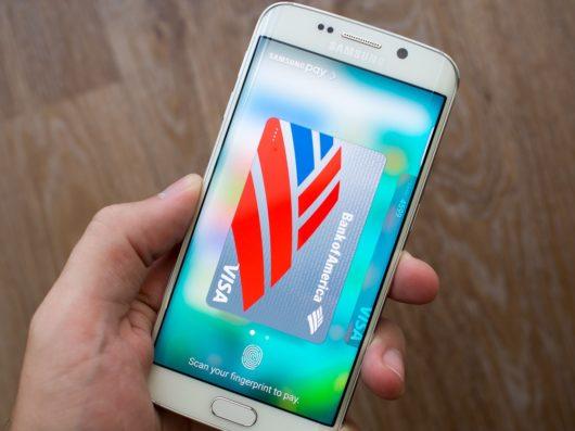 Подтверждение платежа в Samsung Pay