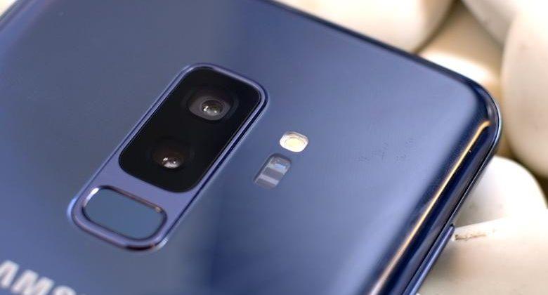 Камера и стереодинамики Samsung Galaxy S9