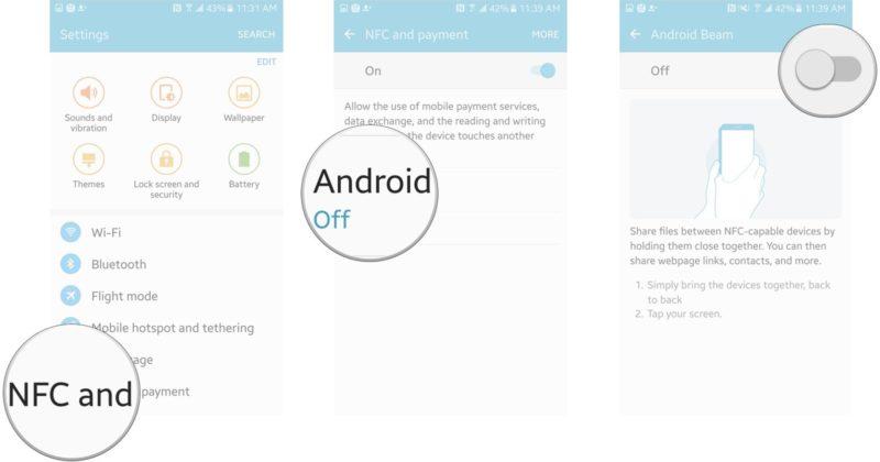 Как обмениваться файлами через NFC
