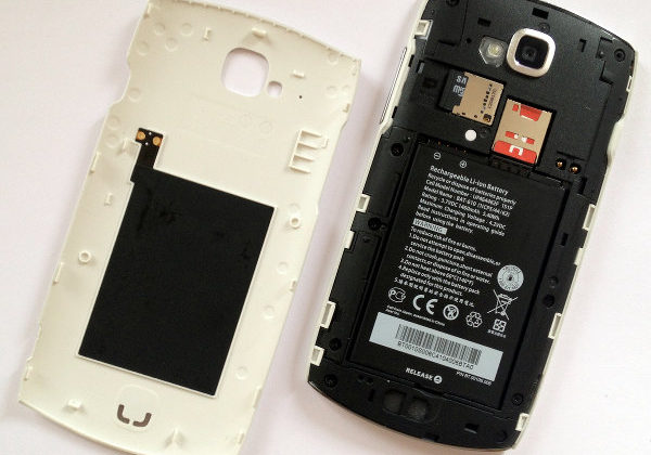 Расположение NFC в смартфоне Самсунг