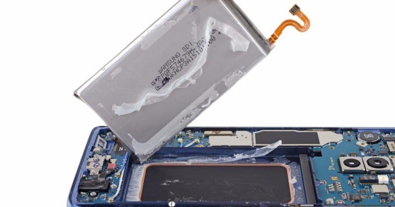 Samsung Galaxy S9 аккумулятор