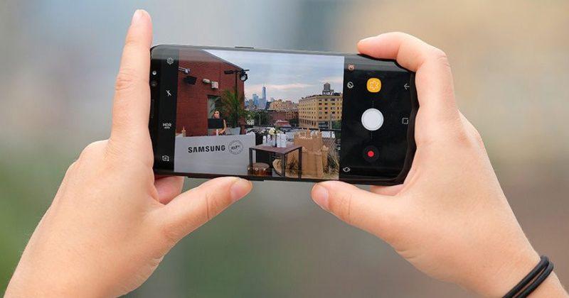 Съемка на Samsung Galaxy S9