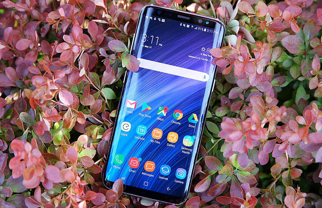 Дисплей Galaxy Note 8