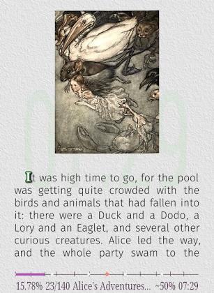 скриншот AlReader