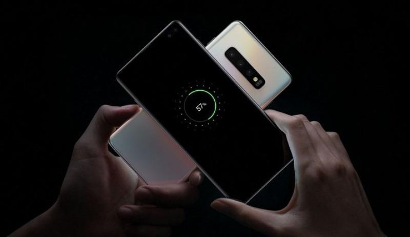 Реверсивная зарядка в смартфонах